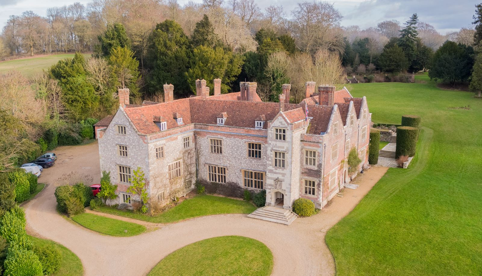 Chawton House in the Village of Chawton, Hampshire