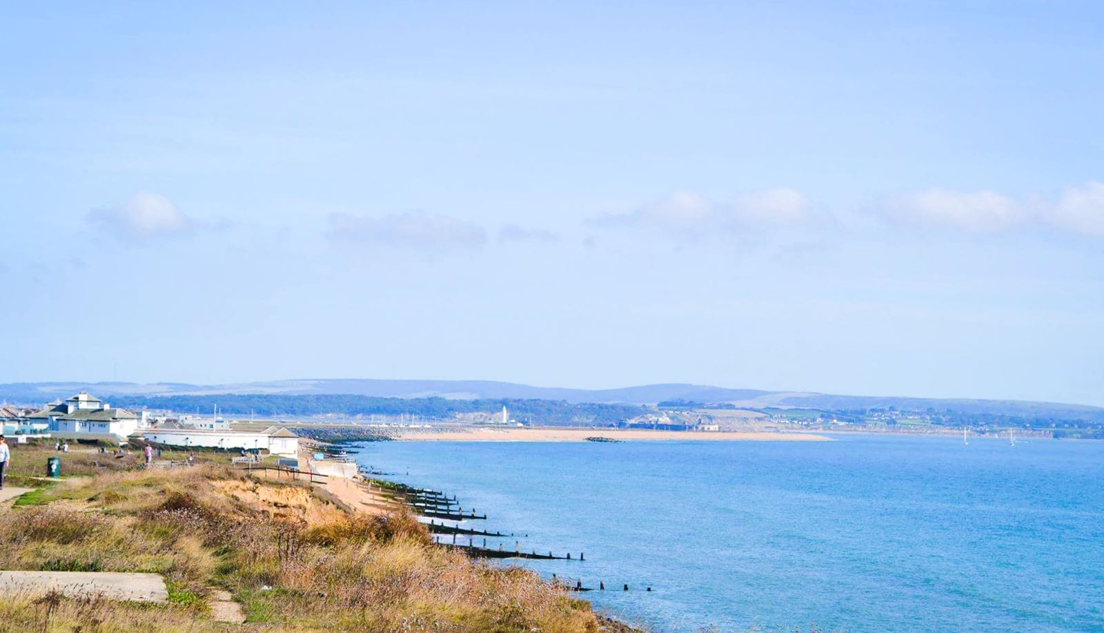 Walks near the sea in Hampshire