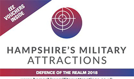 Hampshire's Miltary Attractions Leaflet