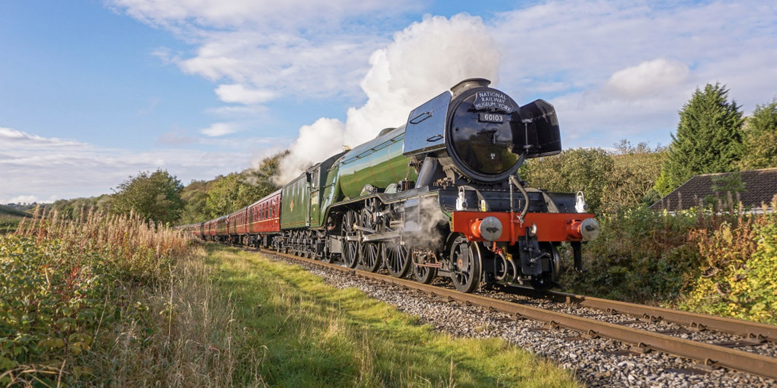 Flying Scotsman at the Watercress Line