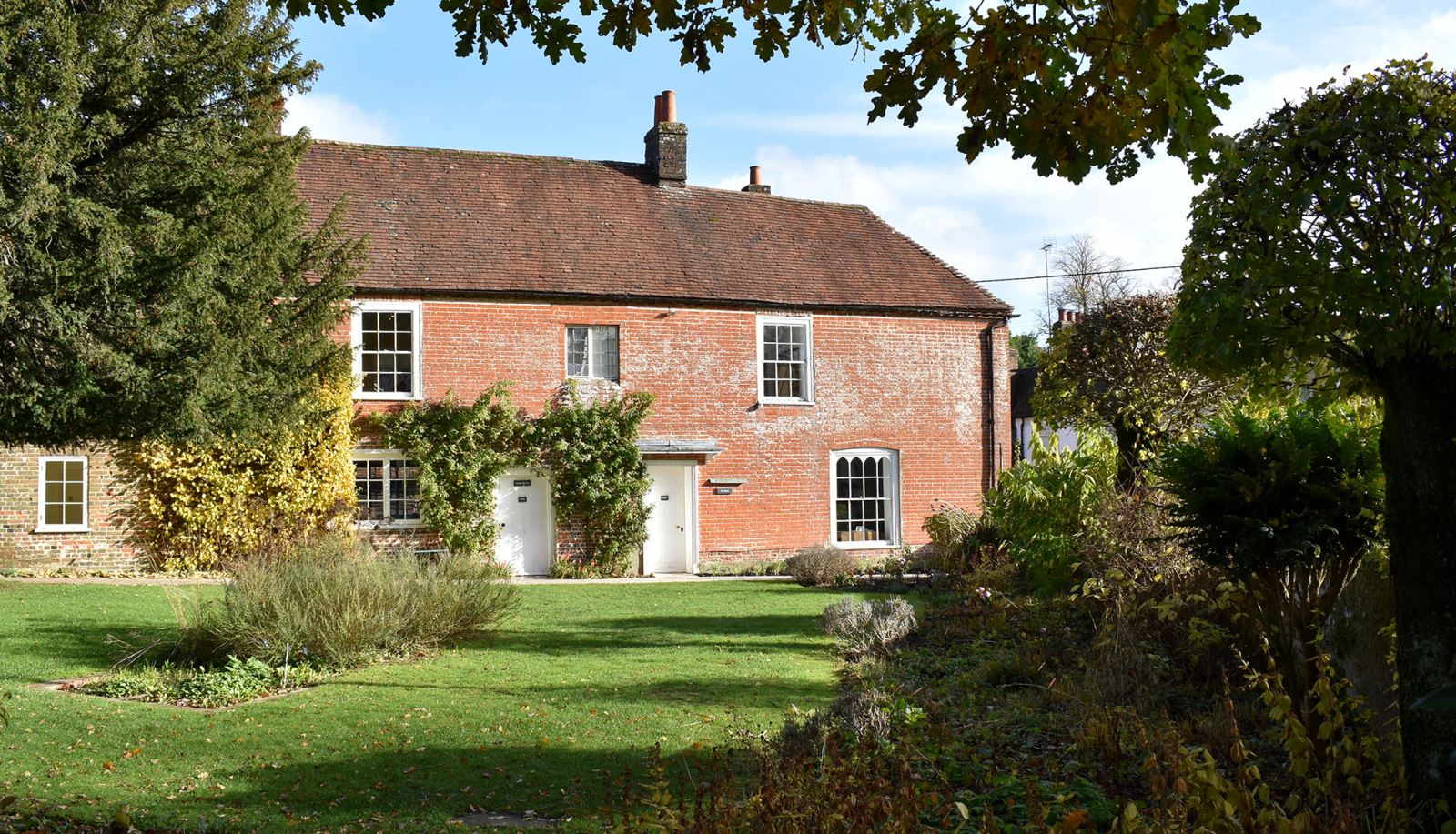 Jane Austen's House in the Village of Chawton, Hampshire