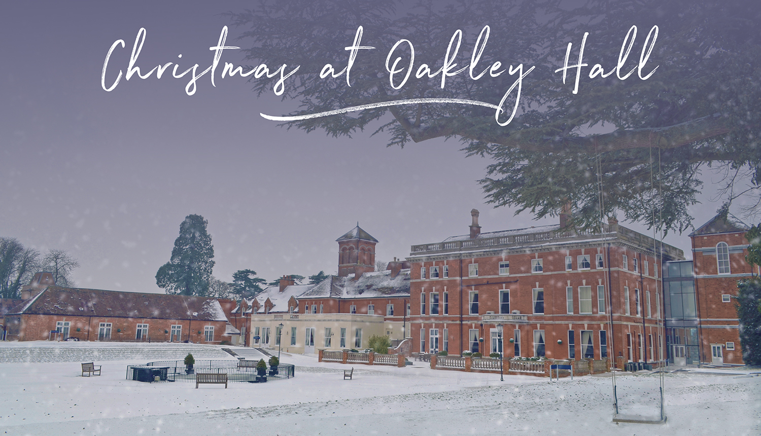 Christmas at Oakley Hall Hotel