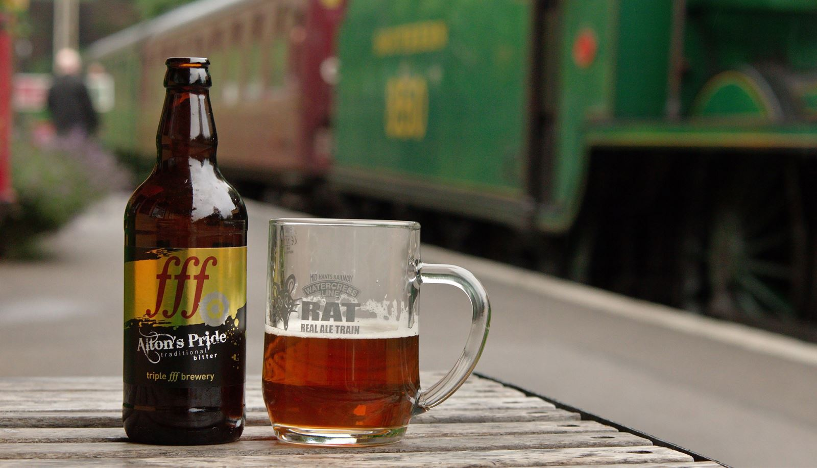 Watercress Line - RAT - Real Ale Train - Hampshire MicroGap