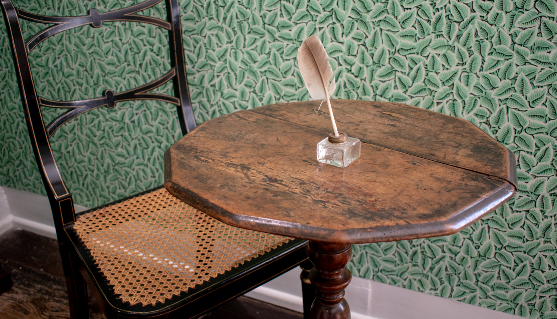 Jane Austen's Writing Table at Jane Austen's House