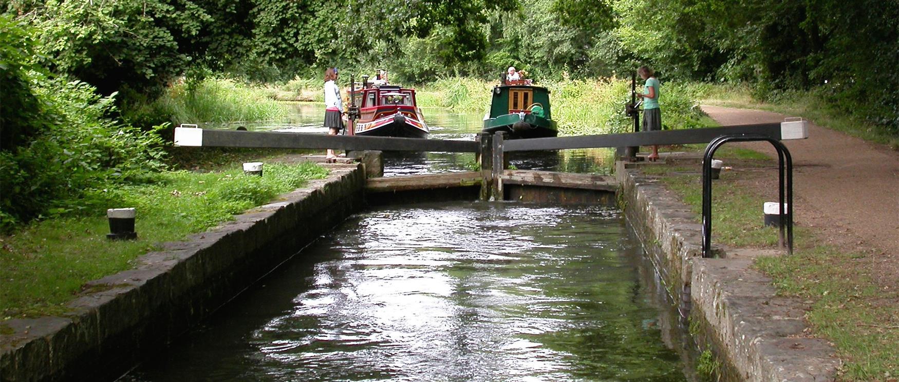 Basingstoke Canal - Visit Hampshire