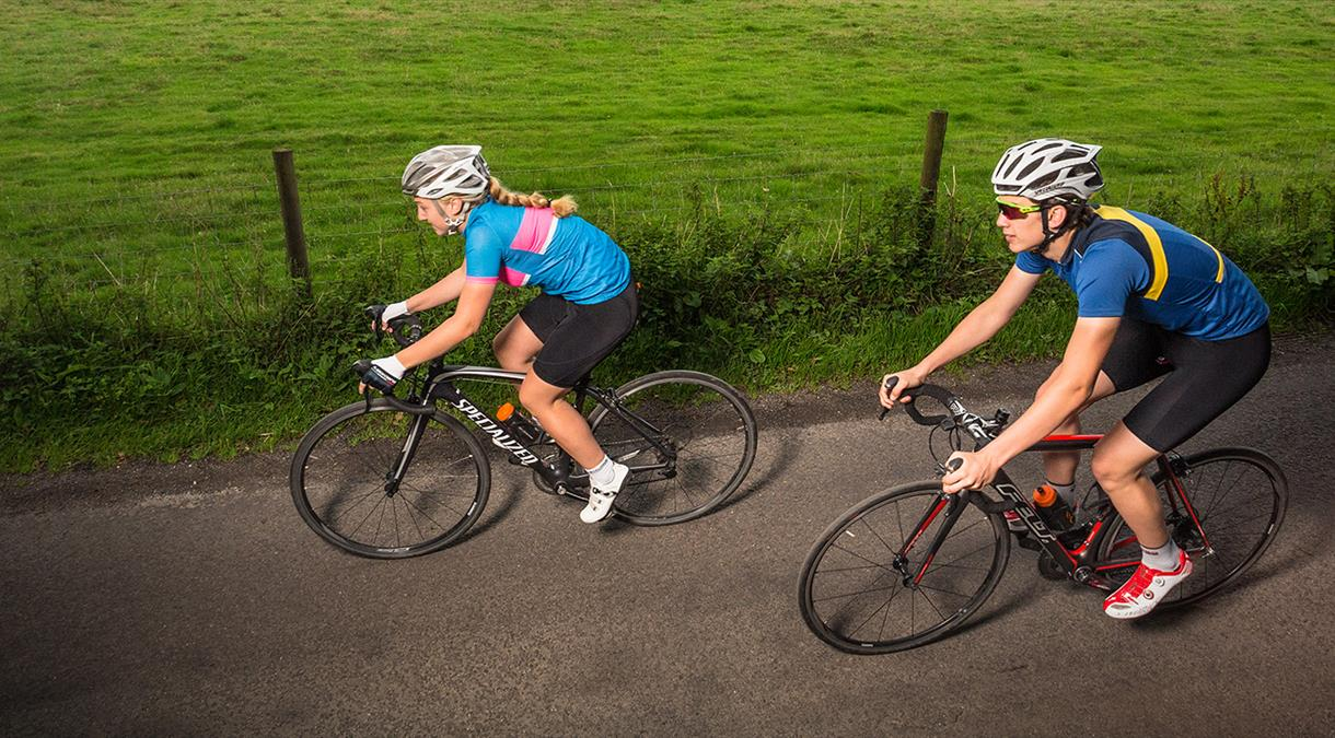 Road Cycling Event in Hampshire