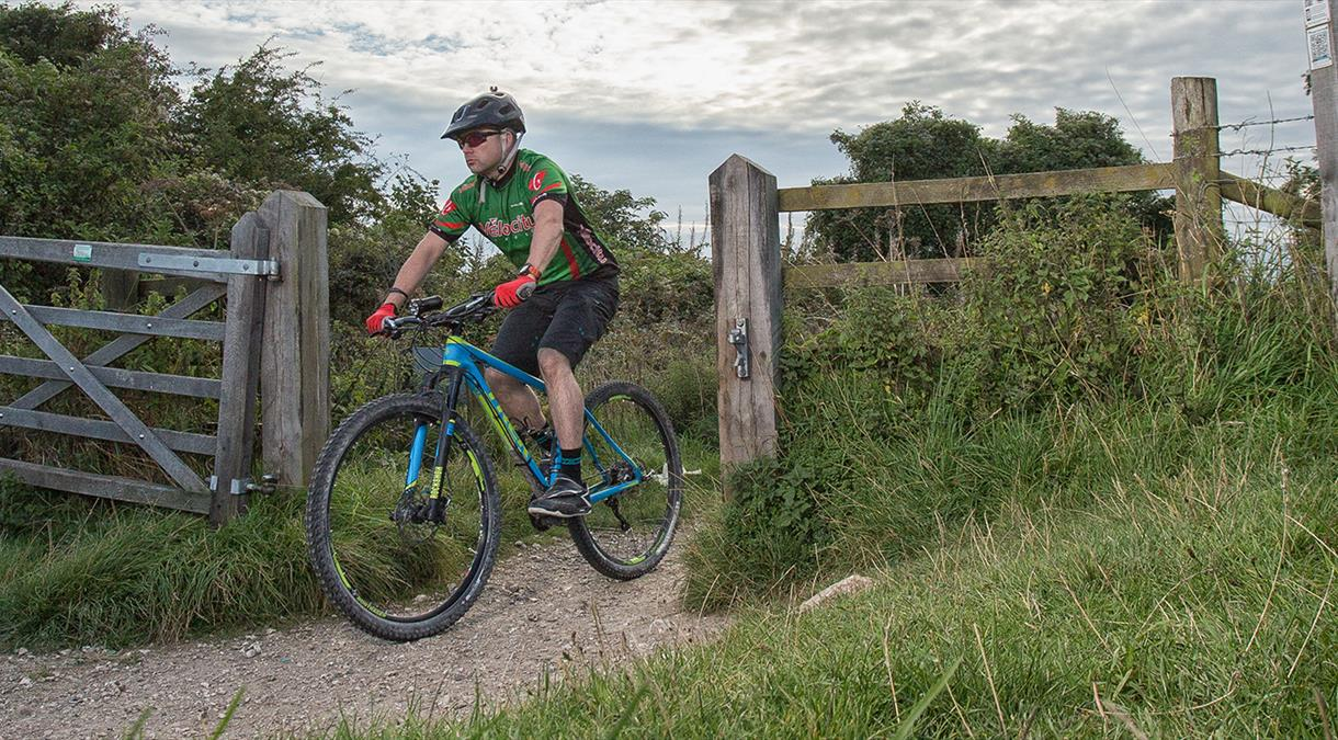 Mountain Biking Event in Hampshire