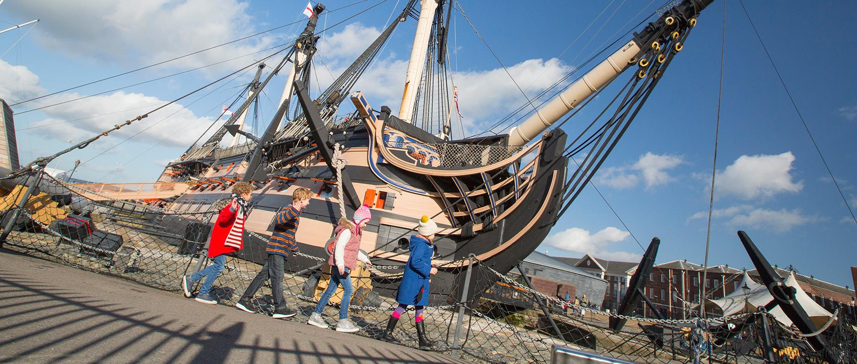 Military Attractions in Hampshire - Portsmouth Historic Dockyard