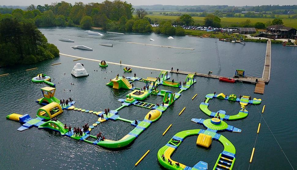 New Forest Water Park Visit Hampshire