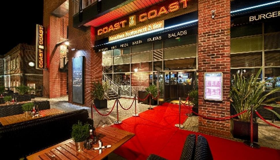 Coast To Coast American Bar Restaurant Portsmouth