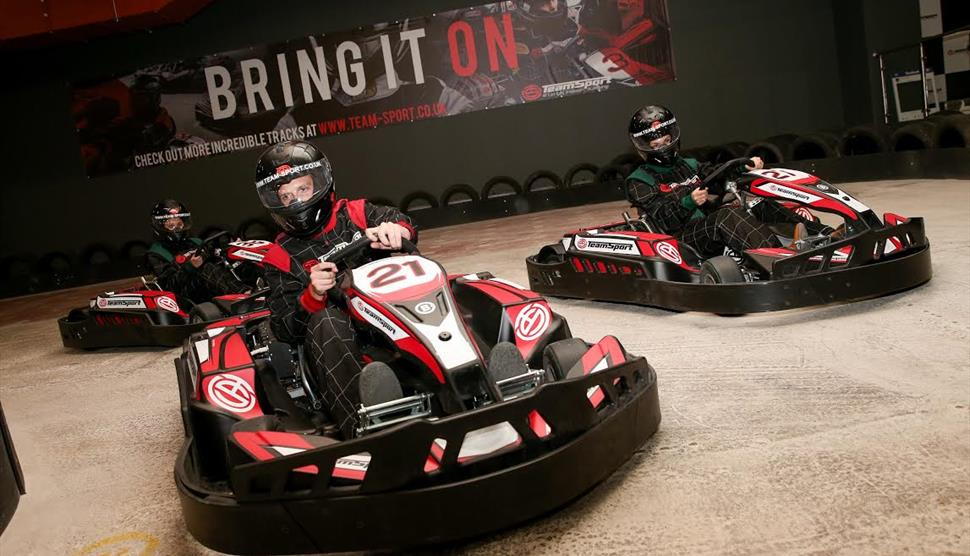 Team-Sport Indoor Karting Southampton - Visit Hampshire