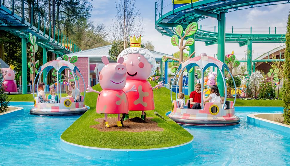 Paultons Theme Park Home Of Peppa Pig World Visit Hampshire