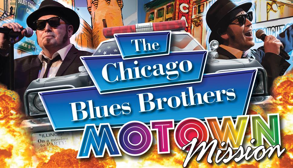 The Chicago Blues Brothers Motown Mission at Guildhall