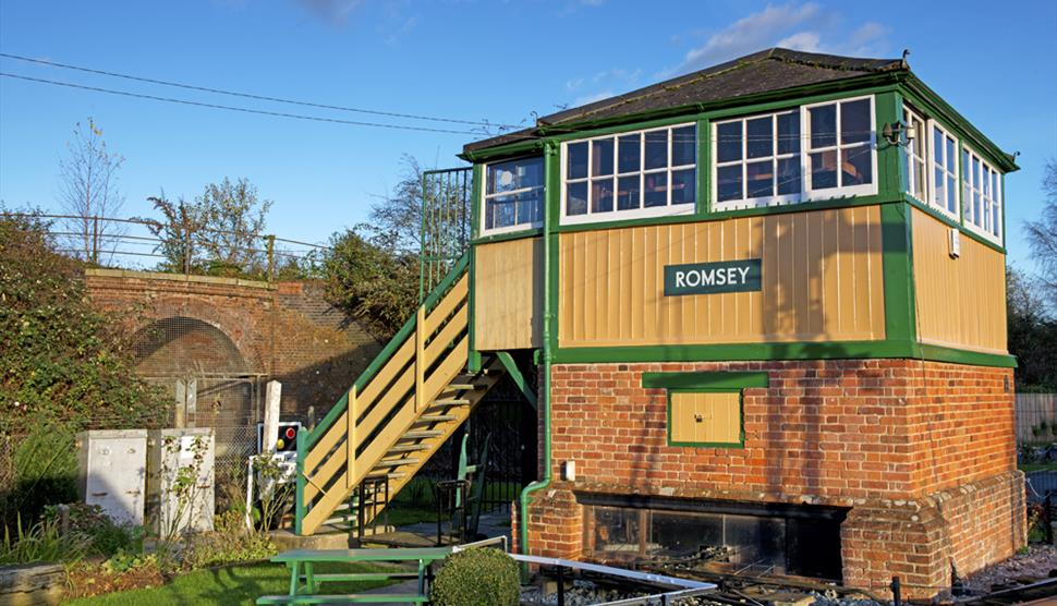 Image result for Romsey signal box