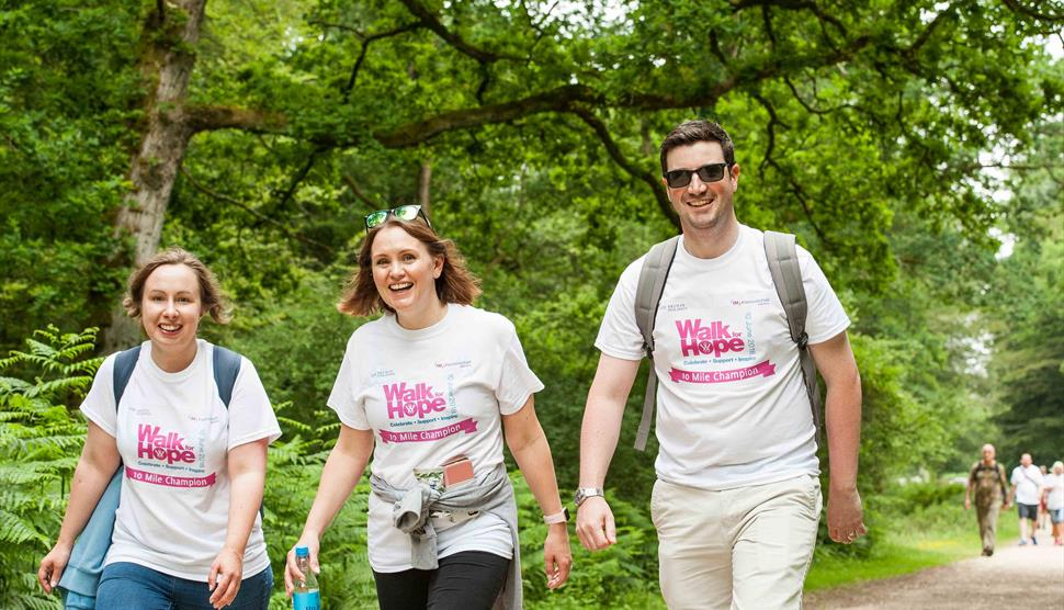 Walk for Hope 2019 at Burley Park - Visit Hampshire