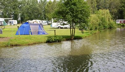 Green Hill Farm Camping and Fishing Lakes in the New Forest