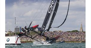 Image of America's cup Portsmouth 2015