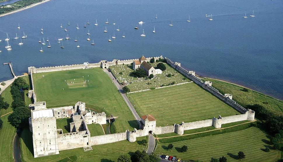 Portchester Castle - Visit Hampshire