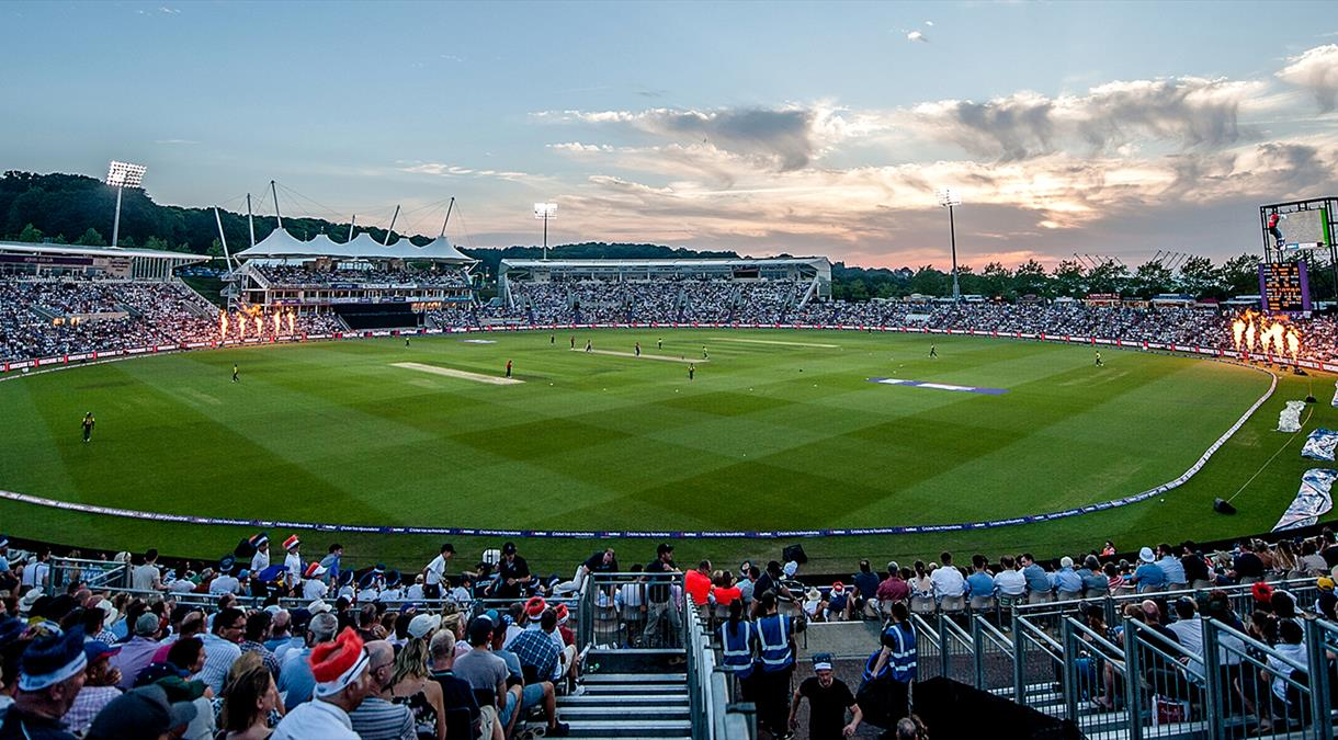 The 2019 Cricket World Cup comes to Hampshire