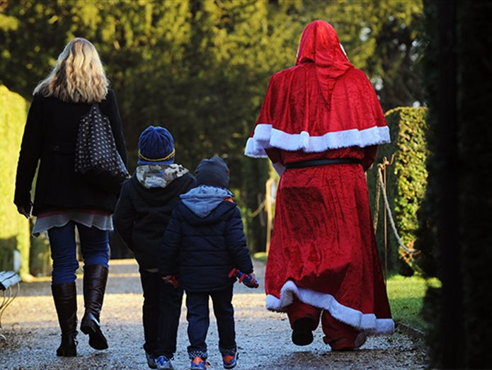 The Best Places to see Father Christmas in Hampshire