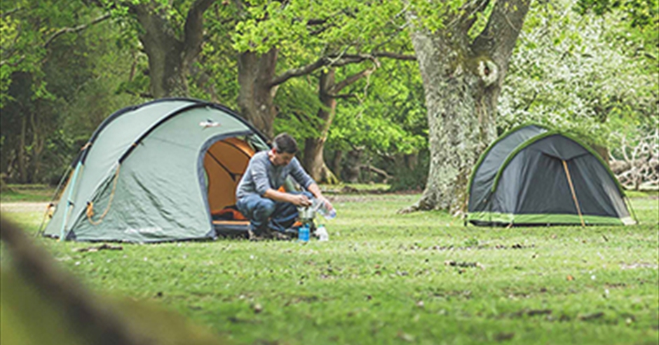 Camping and Campsites in Hampshire