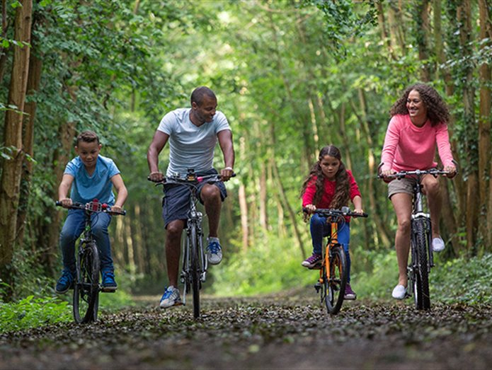 Family Cycle Rides in Hampshire
