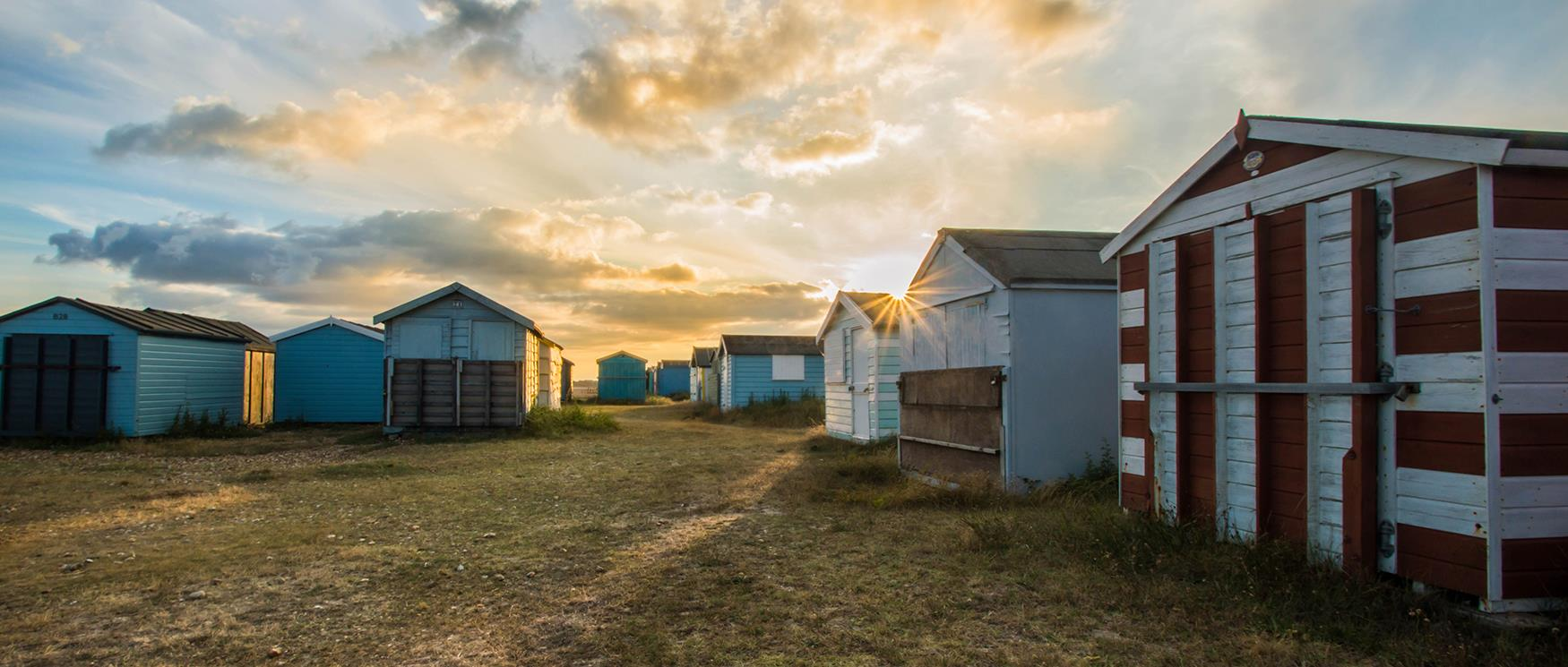 Hayling Island Beach Huts - Darin Goodsell 2017 Summer Winner