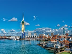 Emirates Spinnaker Tower - Panoramic View