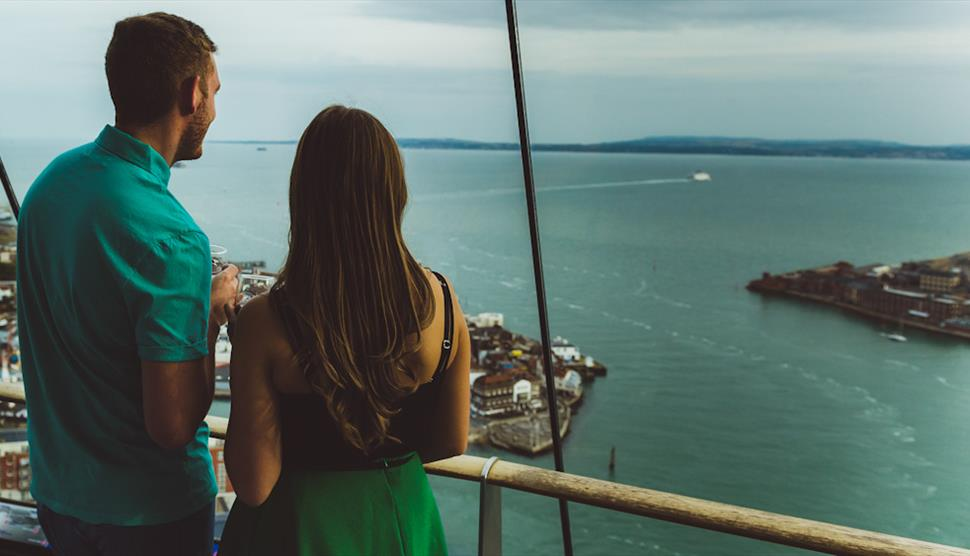 Love is in the Air at Emirates Spinnaker Tower