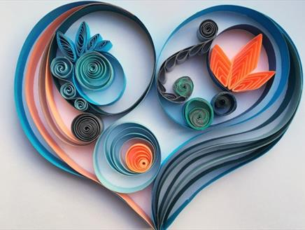 The Art of Quilling Art Workshop at Sir Harold Hillier Gardens