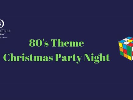 80's Themed Christmas Party Night at DoubleTree by Hilton Southampton