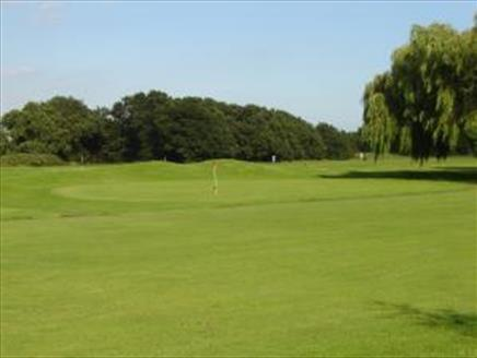 Golf course at Great Salterns