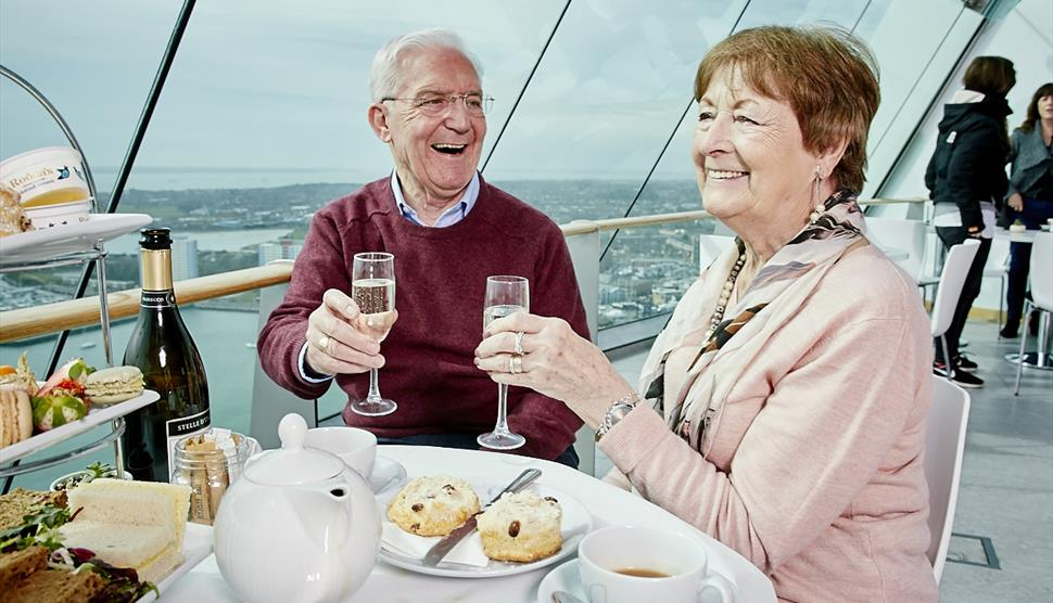 Royal High Tea at Emirates Spinnaker Tower