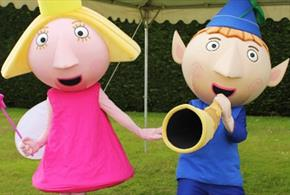 Meet Ben & Holly from Ben & Holly's Little Kingdom at Paultons Park
