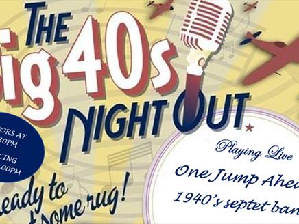The Big 40's Night Out at Wickham Community Centre