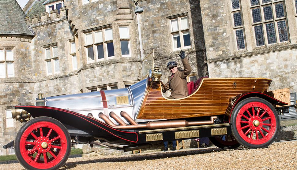 Summer Living History at Beaulieu, National Motor Museum