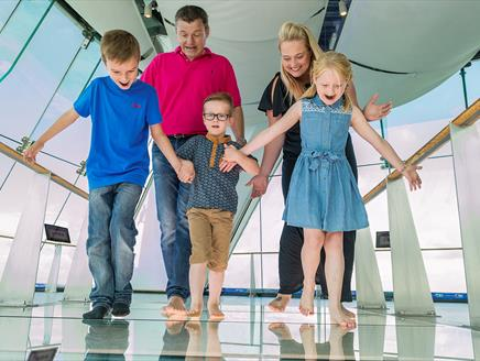 Easter Fun at Emirates Spinnaker Tower