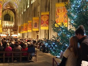Family Carol Service at Winchester Cathedral