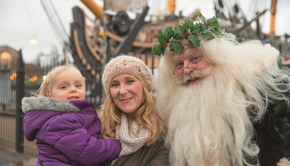 The Dickens Christmas Festival at Portsmouth Historic Dockyard