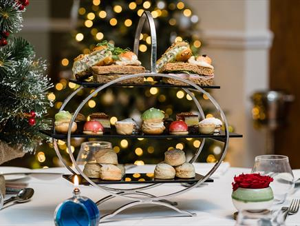 Festive Afternoon Tea at Oakley Hall Hotel