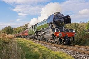 Flying Scotsman Visits the Watercress Line