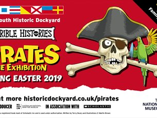 Horrible Histories® Pirates: The Exhibition at Portsmouth Historic Dockyard