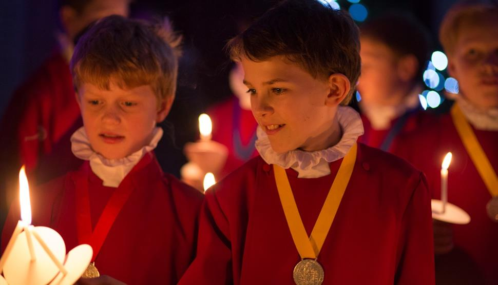 Benajmin Britten's Ceremony of Carols at Winchester Cathedral