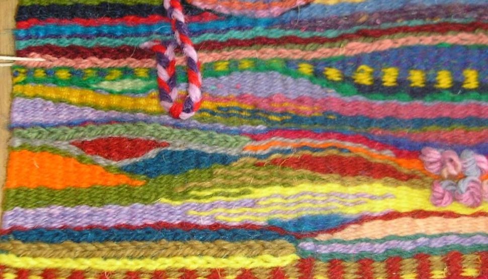 Tapestry Workshop Painting with Yarns at Sir Harold Hillier Gardens