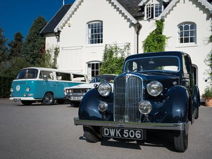 Classic Vehicles in the Garden at Sir Harold Hillier Gardens