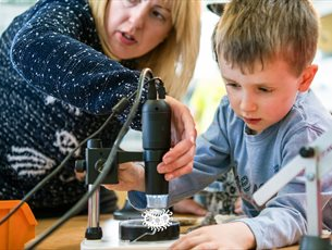 Micro Marvels at Winchester Science Centre & Planetarium