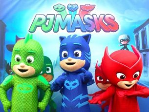 Meet PJ Masks at Paultons Park