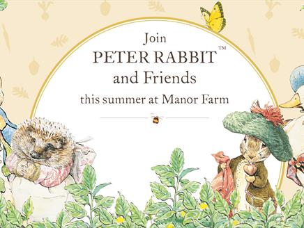 The Peter Rabbit Garden Trail at Manor Farm