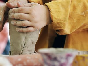 Half Term Pottery Throwing Workshops at Grayshott Pottery