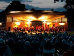 Last Night of the Proms Picnic Concert at Sir Harold Hillier Gardens